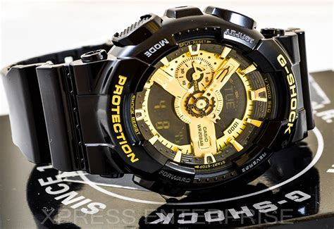 G Shock Time New Model Black Gold 1 casio gshock ga110gb 1a review how to set time light display