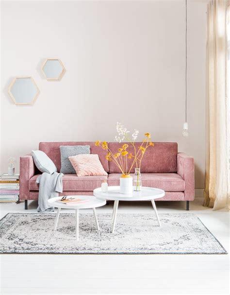 pink sofa app inspiratie roze meubels maken je interieur compleet fem fem
