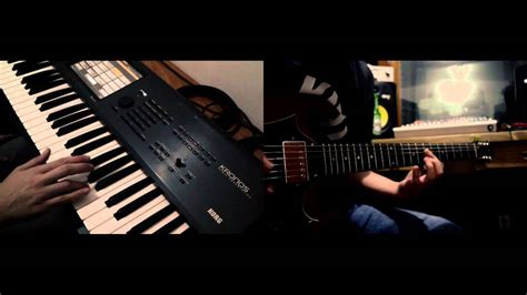 burn tutorial keyboard deep purple deep purple burn keyboard guitar cover youtube