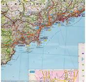 Carte De La C&244te D'Azur  Freytag &amp Berndt – Compagnie Des