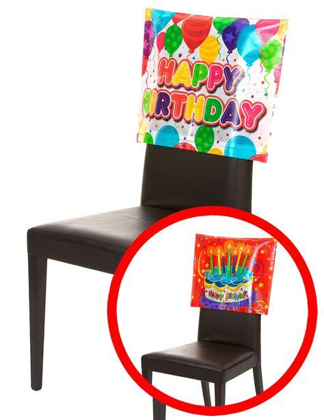 copri sedia copri sedia happy birthday addobbi e vestiti di carnevale