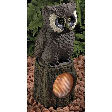Owl Solar Light 136684 Solar Outdoor Lighting At Owl Solar Lights