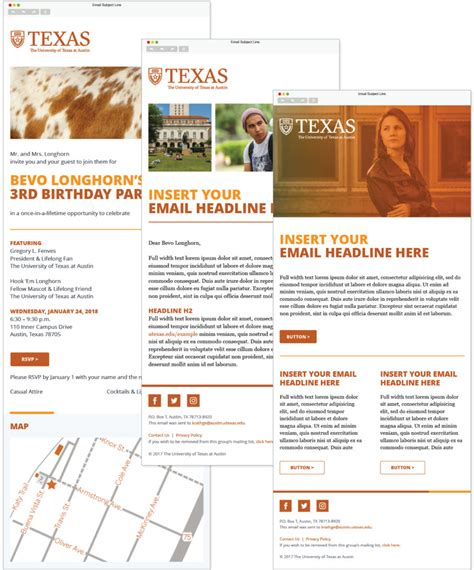 Html Email Brand Email Branding Templates