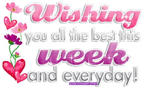 best news of the week wishing you all the best this week