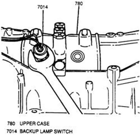 | repair guides | manual transmission | reverse light