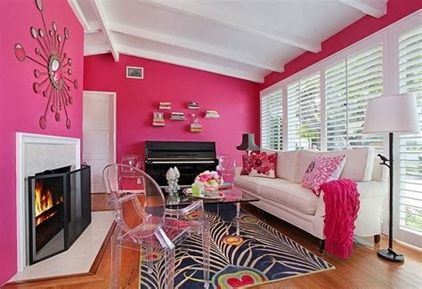 sexy living rooms hot pink living room dream home