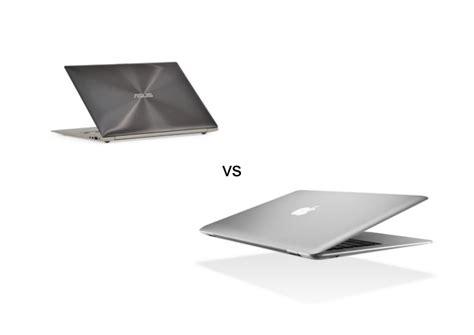 Mba Vs Mac by Apple Macbook Air Vs Asus Zenbook