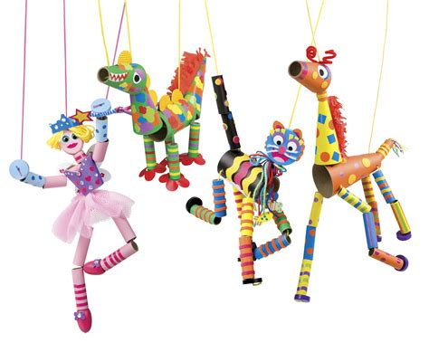 How To Make String Of Paper Dolls - create a marionette review alex toys