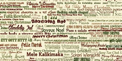merry christmas   languages   lets fly