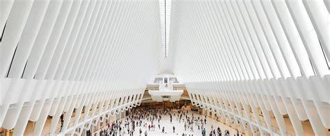 design center in nyc oculus wtc new york by santiago calatrava