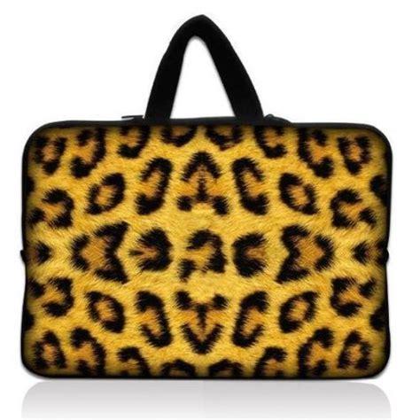Souvenir Printed Pouchtempat Hp 16 buy leopard print 13 quot 13 3 inch dual zipped neoprene laptop bag sleeve cover with