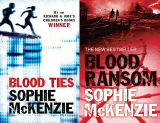 the book zone review blood ties blood ransom by