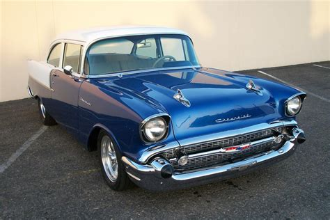 1957 chevrolet 150 2 door custom post 109013