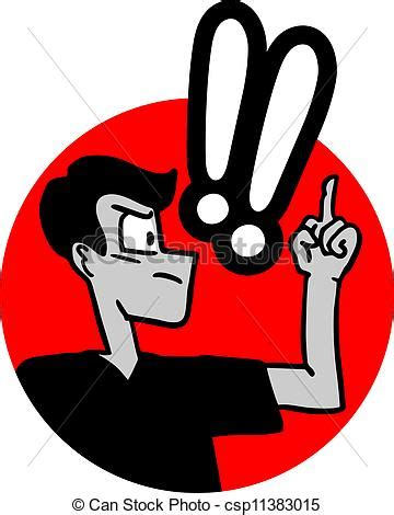 Vector Artwork Definition by Vector Clip Art Of Indignant Exclamation Creative Design