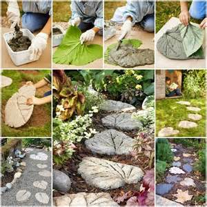 Home Design 3d Outdoor And Garden Tutorial Ideas Amp Products Leaf Stepping Stones