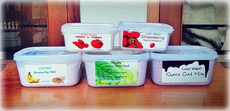Murah Nature Organic Lulur Wajah Green Tea 250gr lulur wajah organik 100 alami aman untuk ibu ibuhamil
