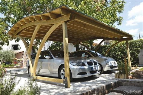 Wooden Car Ports by Unique Wooden Garage Kits Design With Solid Beech Wood