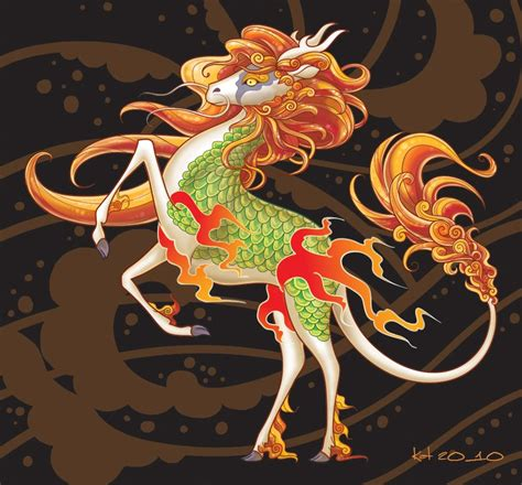 tattoo unicorn japanese in the east there is the chinese qilin and the japanese