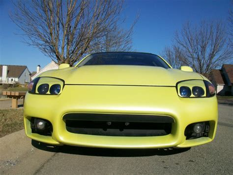 yellow dodge stealth 94 pearl yellow dodge stealth rt turbo awd tt