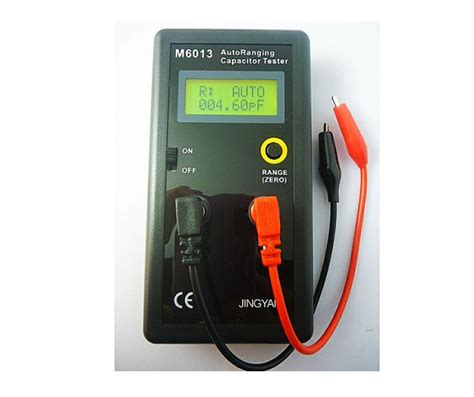 testing capacitors with a multimeter jy6013 auto range digital capacitor capacitance tester electronics repair and technology news