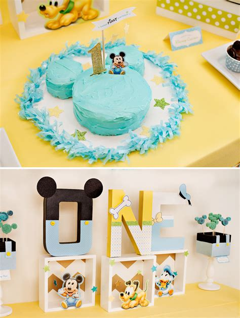 Creative Mickey Mouse  Ee  St Ee    Ee  Birthday Ee   Party  Ee  Ideas Ee   Free
