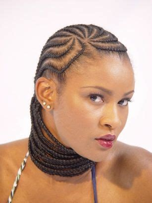 simple cornrows with extensions