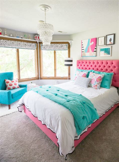 how to decorate a teenage bedroom a teen bedroom makeover decor fix