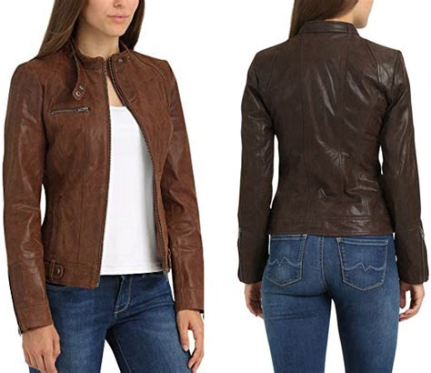 chaqueta de cuero para mujer chaqueta de cuero para mujer desires por s 243 lo 84 95 euros
