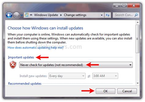 how to open administrative templates in windows 7 how to remove automatic updates on window 7