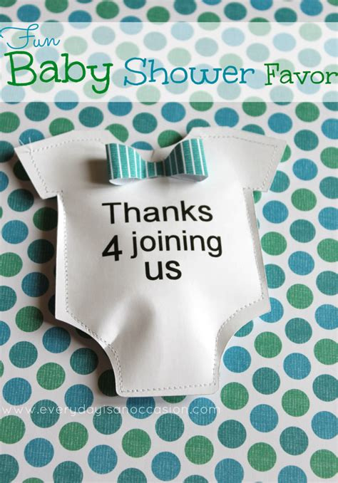 When Do You A Baby Shower by Diy Baby Shower Favor