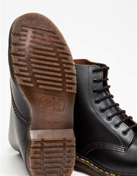 Dr Martens 156169 Made In Docmart Dr Martens lyst need supply co made in 1460 8 eye boot in black for