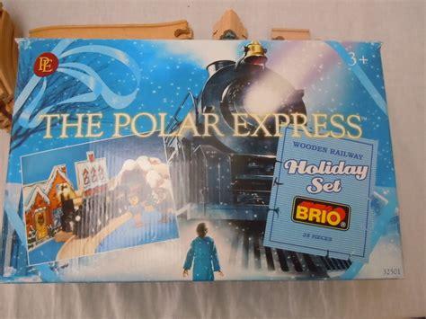 brio polar express train set brio the polar express wood train set 32501 and light up