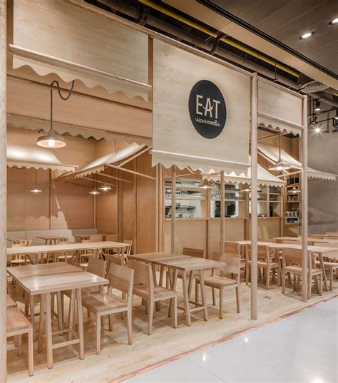 harga design interior cafe wood chipping onion designs all wood eatery at emquartier