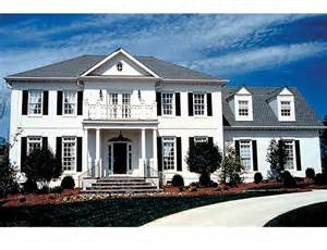 federal style home plans home plans homepw16423 3 298 square 4 bedroom 3