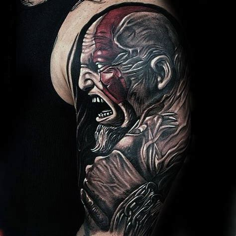 god of war tattoo 30 kratos designs for god of war ink ideas