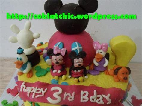 Cetakan Coklat Disney Mickey cake playhouse disney mickey mouse dan teman teman jual kue ulang tahun