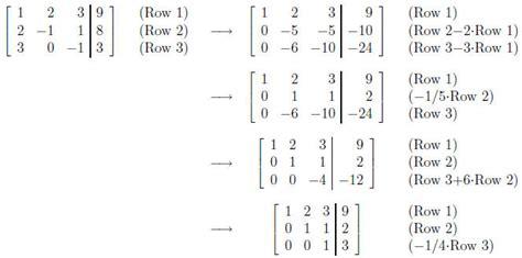 calculator gauss jordan gauss jordan elimination calculator greg thatcher share