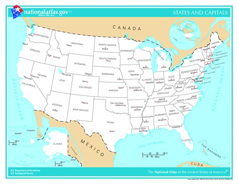 map usa states view 4thgradeky lesson 7 need for statehood