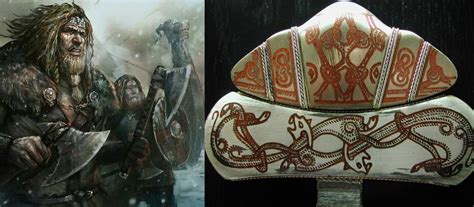strong colors were a viking symbol of status and wealth