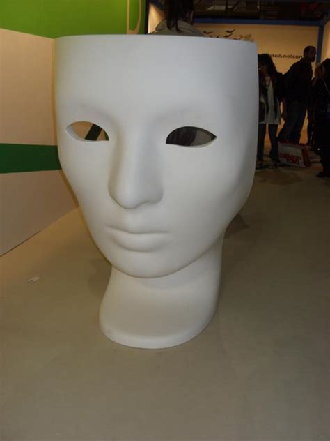 Amazing Chair in the Shape of a Face Mask : Milan 2010