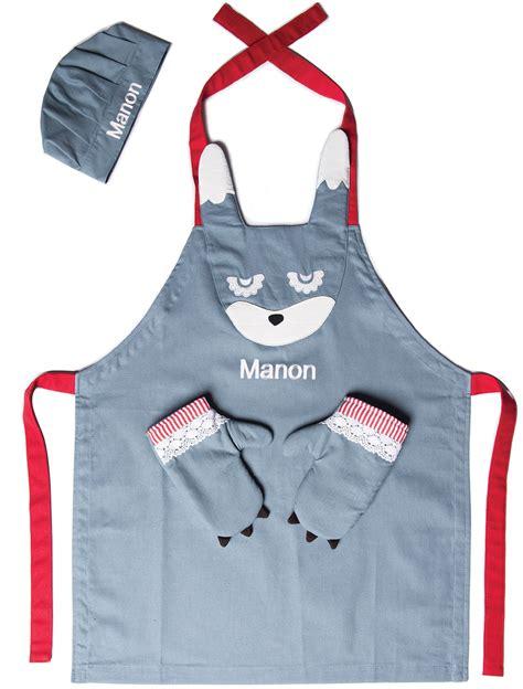 tablier de cuisine pour enfant tablier enfant pas cher
