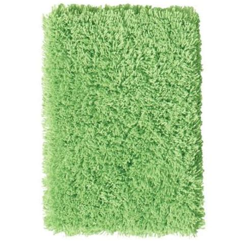 lime green shag rugs home decorators collection ultimate shag lime green 6 ft x 9 ft area rug 7575491620 the home