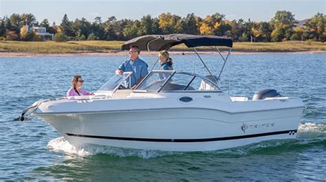 striper boats reviews 2015 striper 200 dual console boat review boatdealers ca