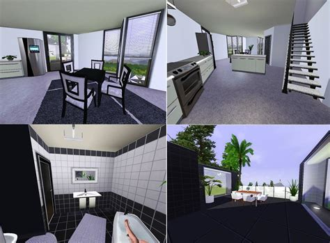 modern house inspiration with interior mod the sims ozonemania inspired modern home