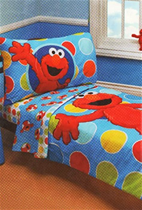Elmo Toddler Bedding Set Sesame Elmo 4 Toddler Bedding Set 67 95