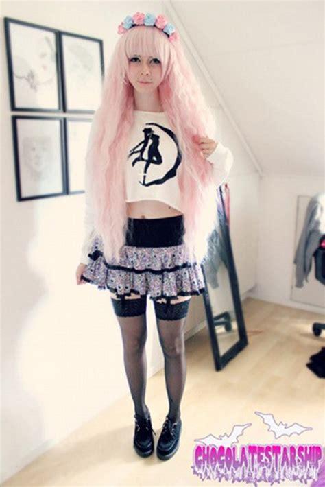 kawaii pastel goth fashion tumblr skirt pastel goth grunge pastel grunge kawaii kawaii