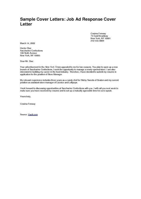 cover letter sample job application job cover