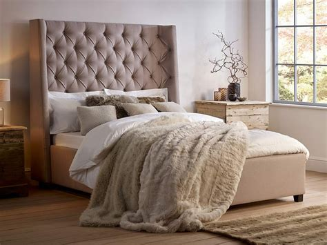 winged bedroom melt into the arthur tall bed with stunning headboard