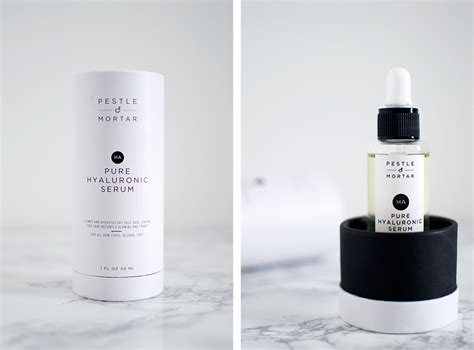 Pestle And Mortar Hyaluronic Serum review pestle mortar hyaluronic serum bloomzy