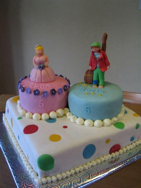 boy girl twin birthday cake cakecentralcomtwin birthday cake princess happy birthday twins
